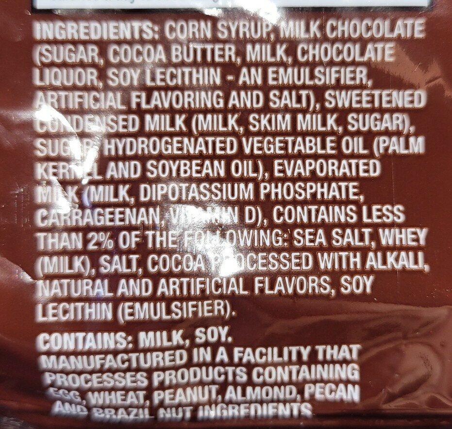 seasalt carmel - Ingrédients - en