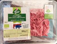 Hackfleisch vom Rind und Schwein gemischt, zum Braten - Produkt