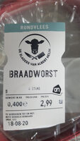 Runder Braadworst - Product - en