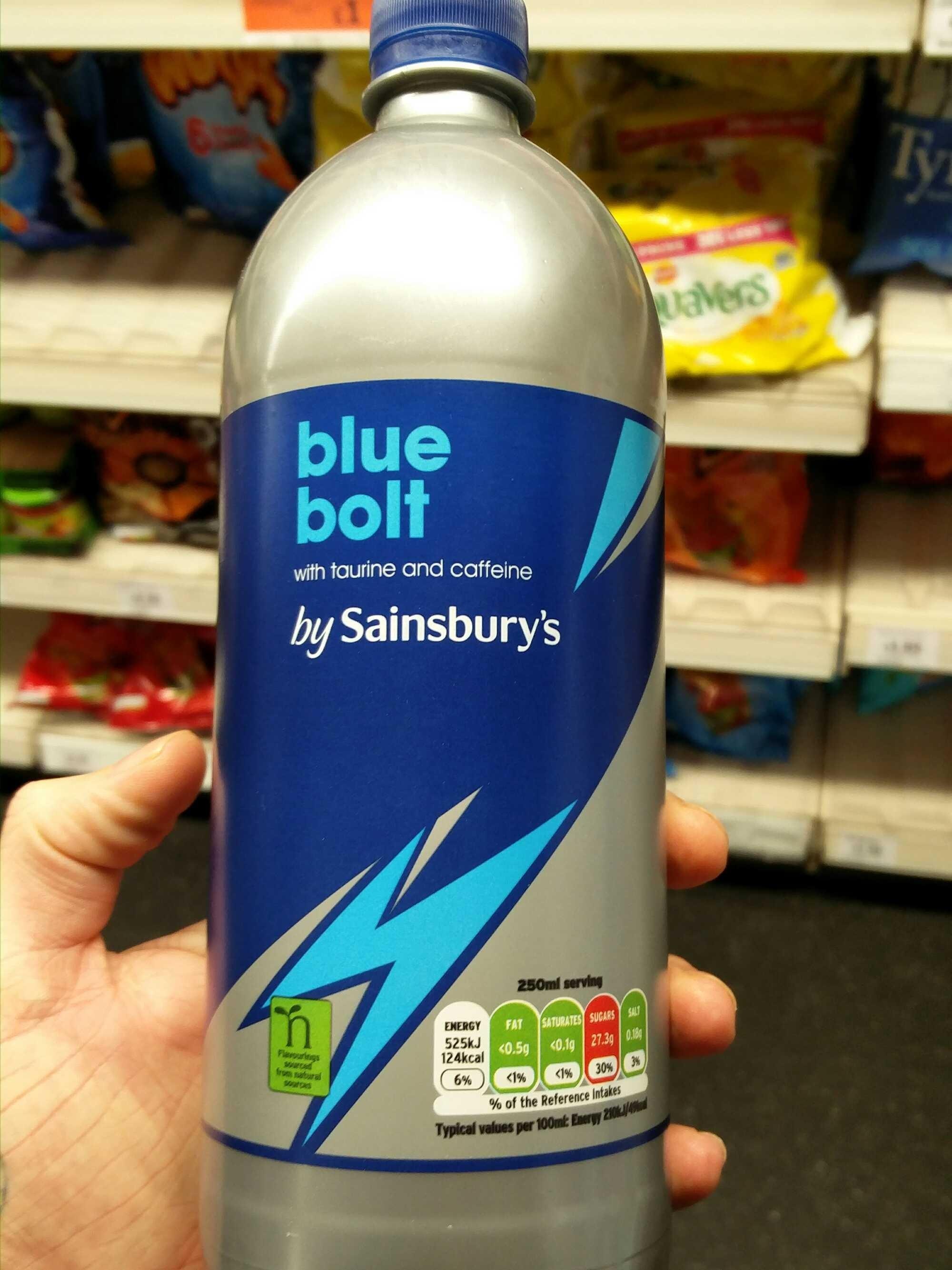 Blue bolt - Product - fr
