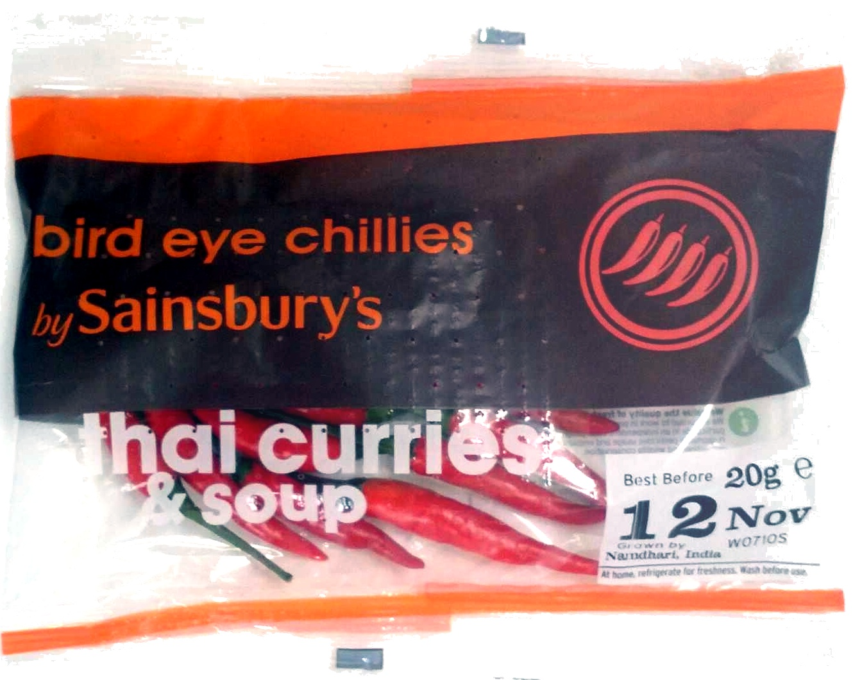 bird eye chillies - Produit - en