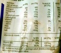 Desiree potatoes - Voedingswaarden - en