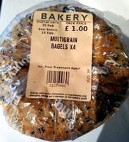 Multigrain bagels x4 - Product