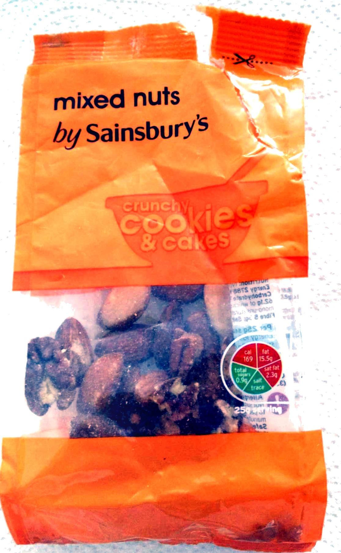 mixed nuts - Produit - en