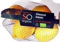 unwaxed lemons - Product