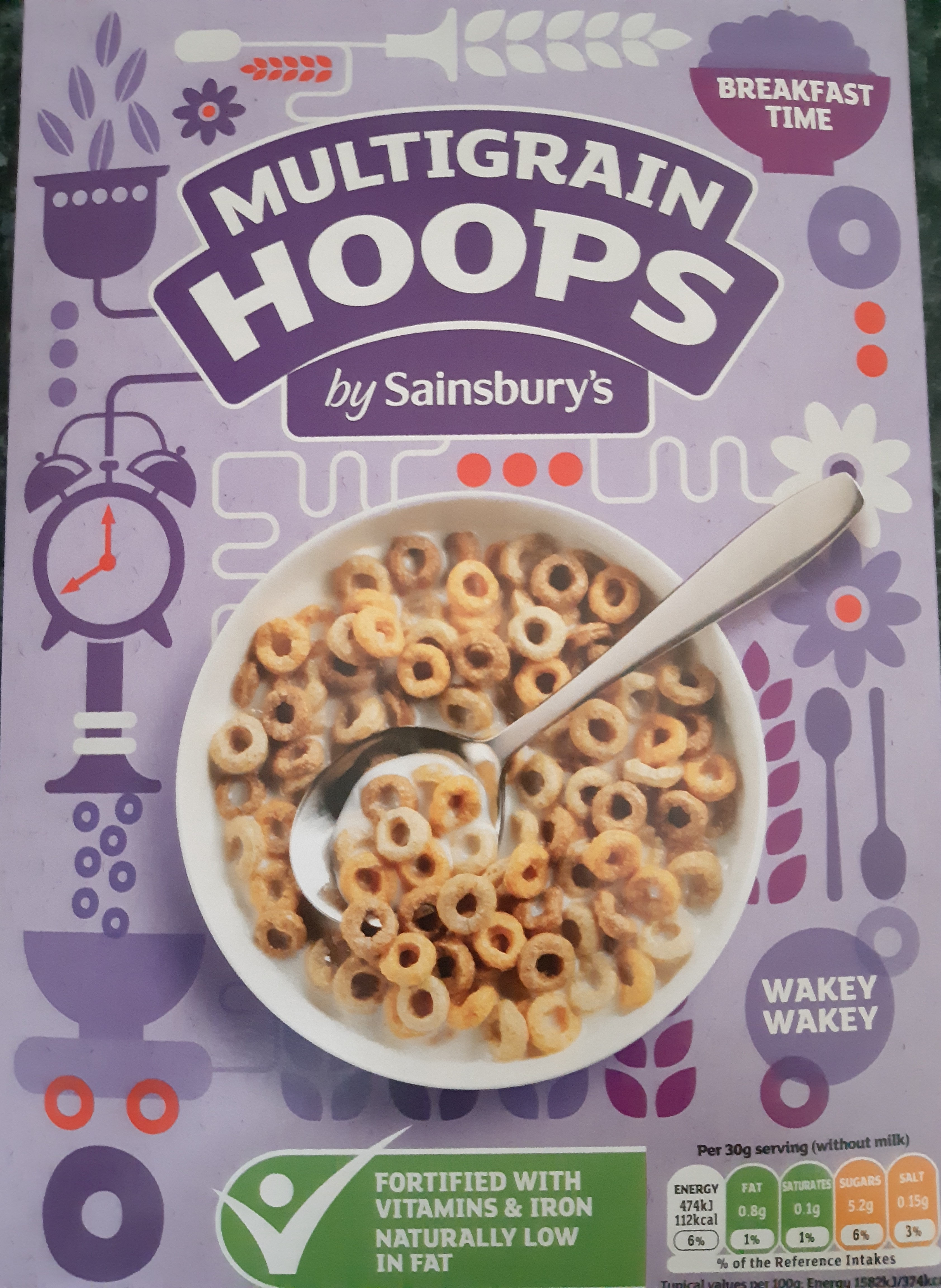 Multigrain Hoops By Sainsburys 375g