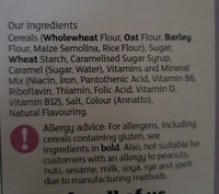 Multigrain Hoops by Sainsbury's - Ingredients - en
