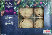 6 All Butter Mince Pies - Product