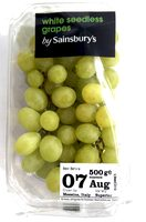 White seedless grapes - Produit - en