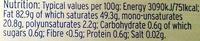 Unsalted English Butter - Informations nutritionnelles - en