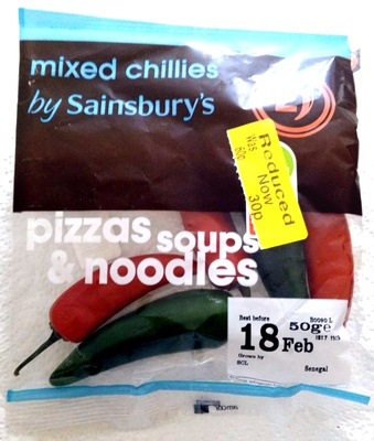 mixed chillies - Product - en