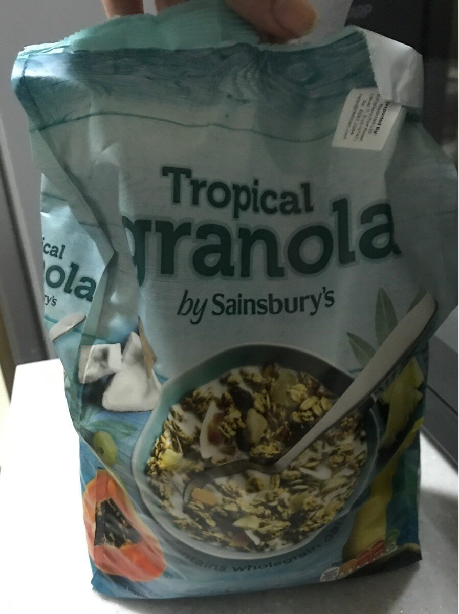 Tropical Granola - Produit - fr