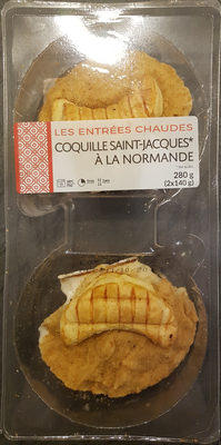 Coquilles Saint-Jacques à la Normande - Product