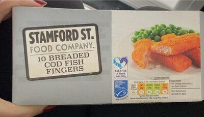 10 breaded cod fish fingers - Prodotto - en