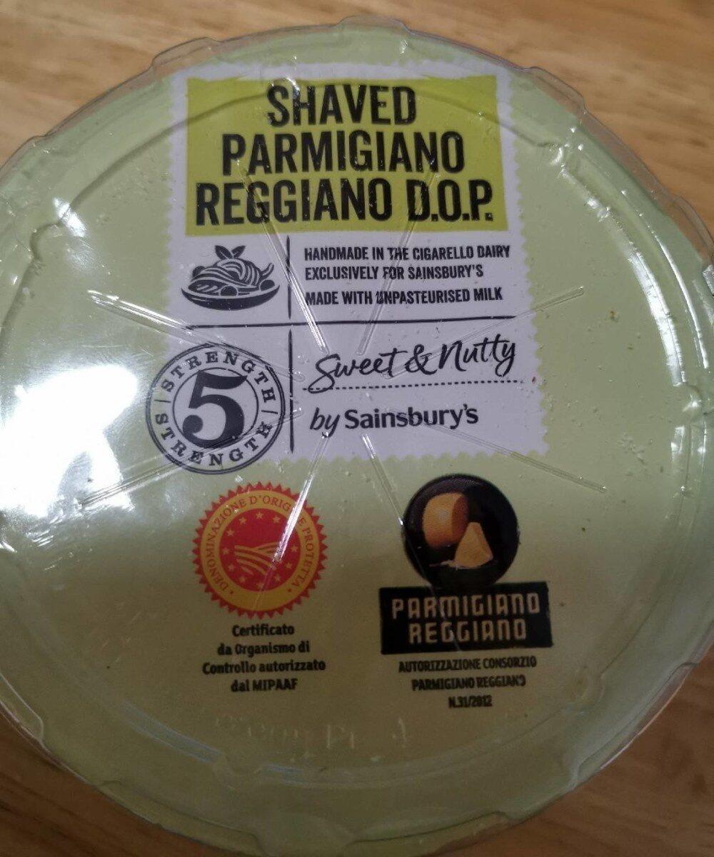 Shaved parmigiano reggiano d.o.p - Produit - en