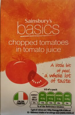 Chopped tomatoes in tomato juice - 1