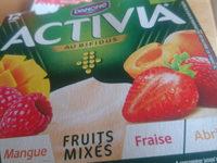 activia fruits mixés - Prodotto - fr