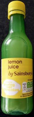 Lemon Juice - Produit