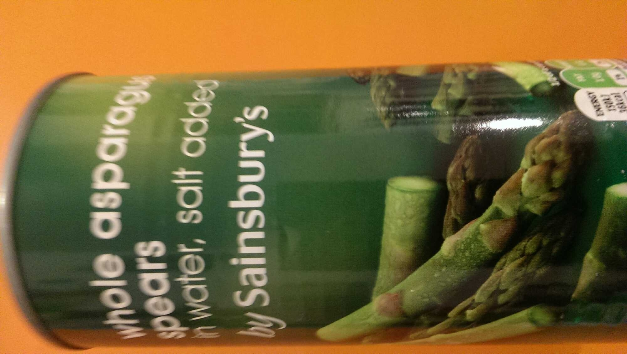 whole asparagus spears - Product