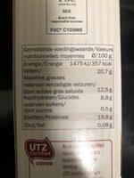 Poudre de cacao - Informations nutritionnelles - fr