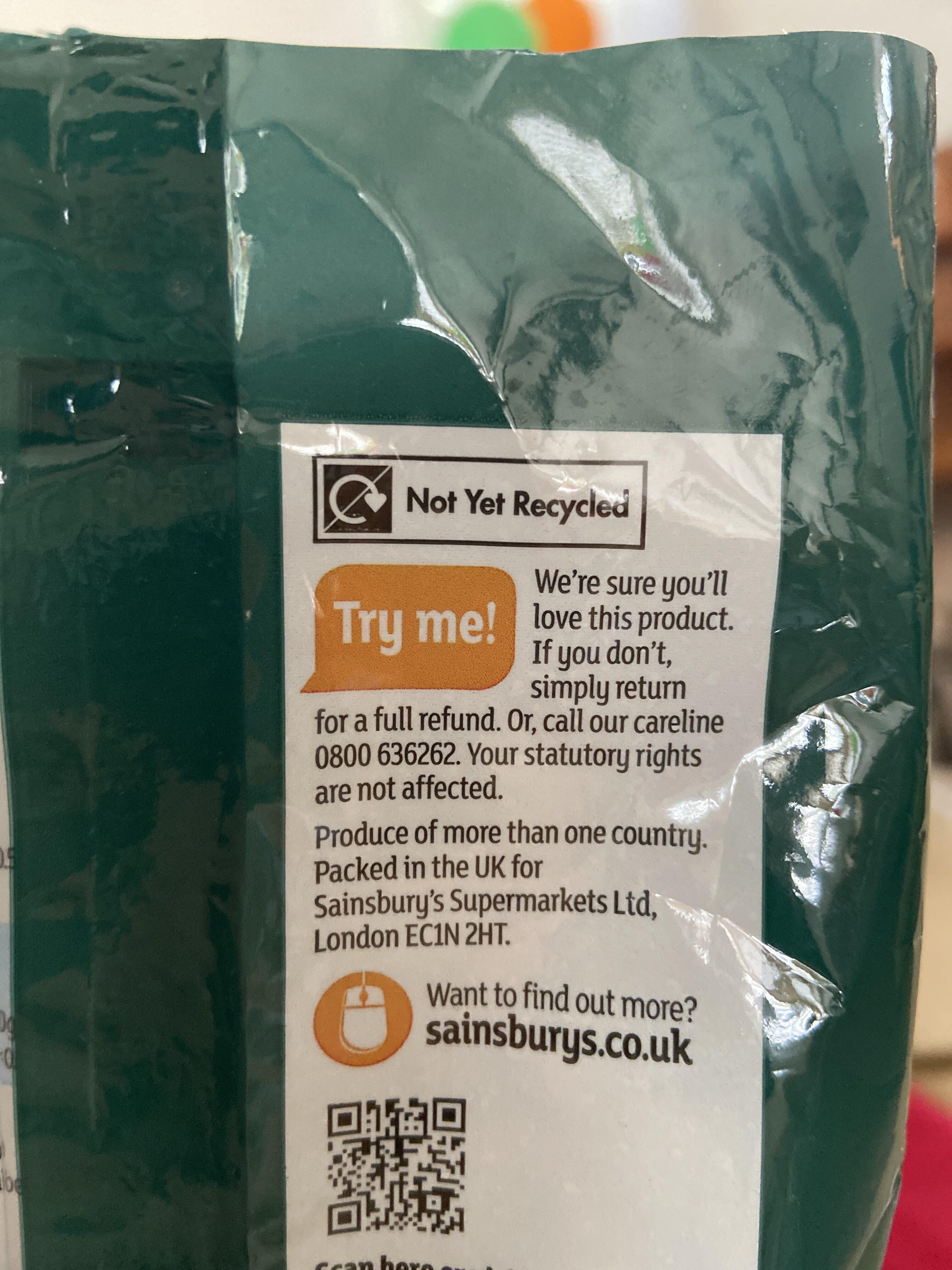 Golden Granulated Cane Sugar - Recyclinginstructies en / of verpakkingsinformatie - en