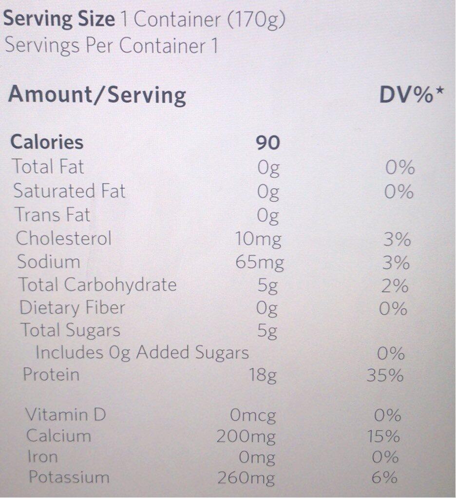 Le bonbon minceur - Nutrition facts - fr