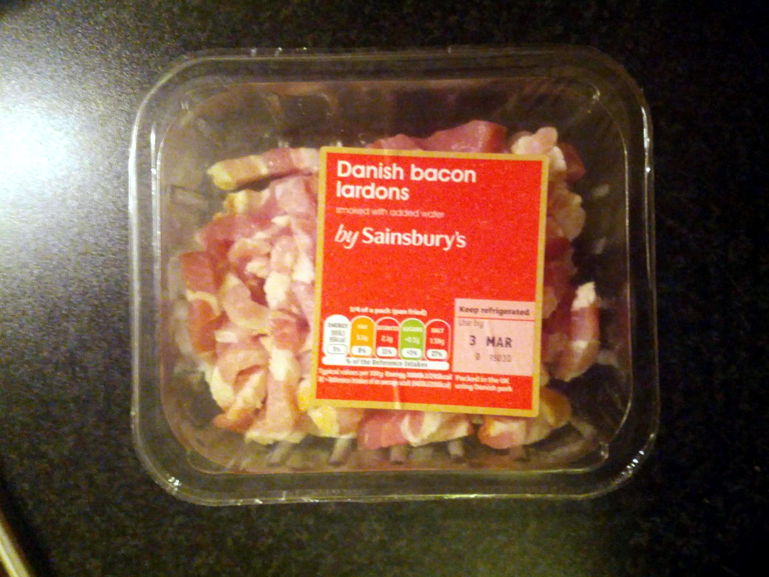 Danish bacon lardons - Product