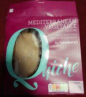 Mediterranean vegetable quiche - Produit