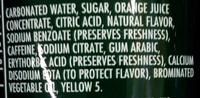 Mountain Dew - Ingredients - en