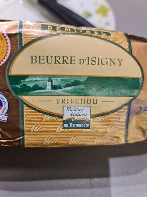 beurre d Isigny Tribehou - Product - fr