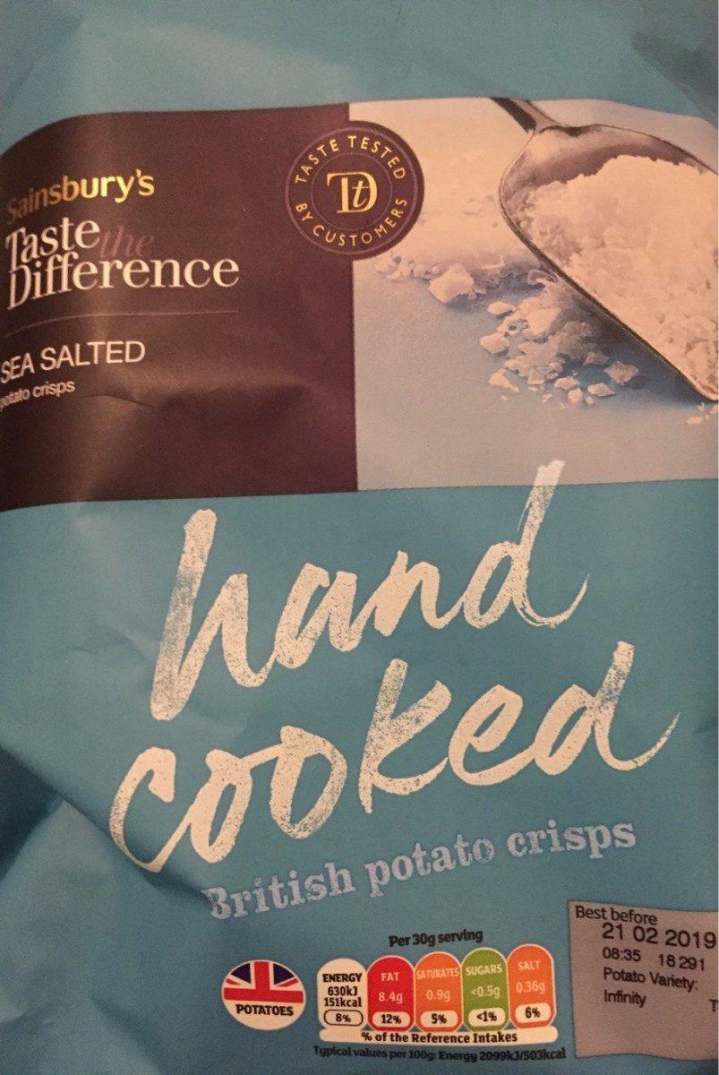 British potato crisps - Product - fr