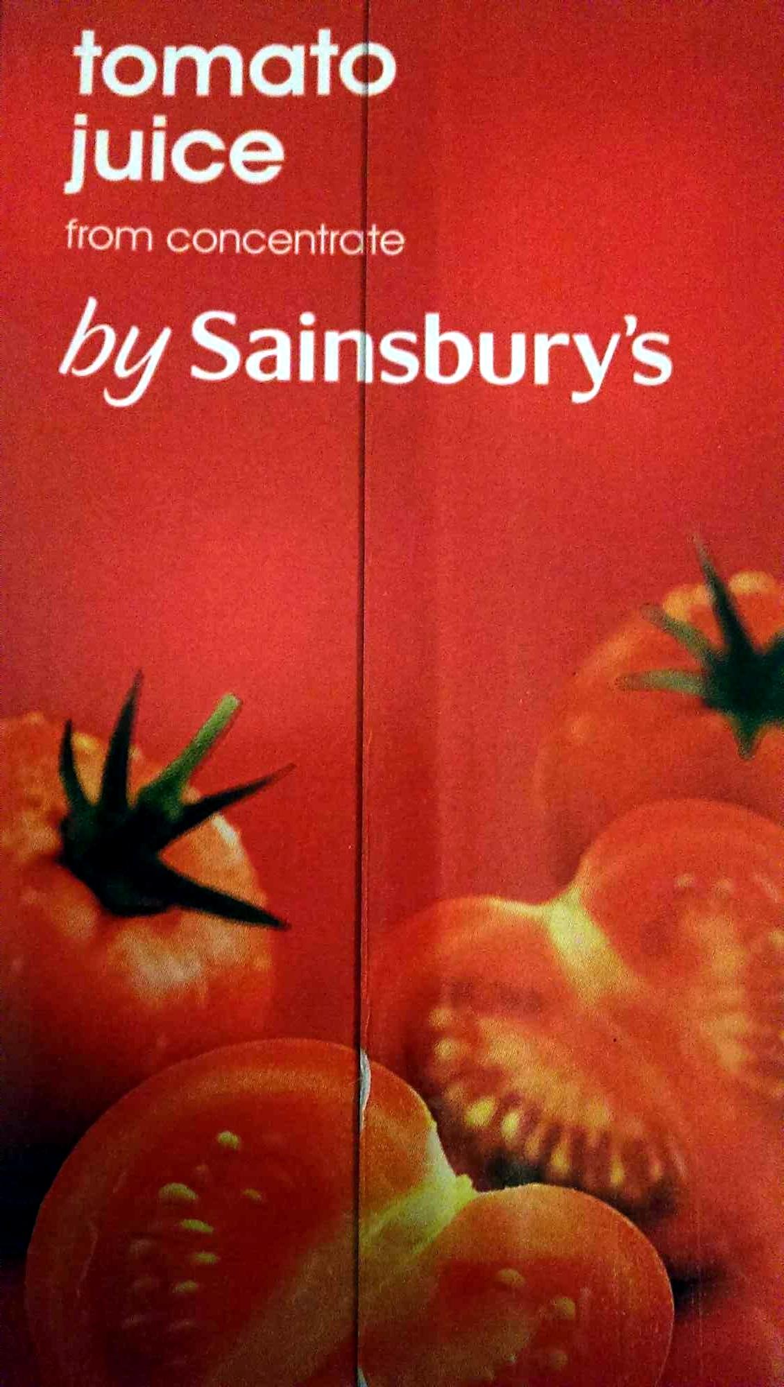 Tomato juice - Product