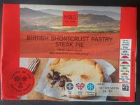 British Shortcrust Pastry Steak Pie - Product - fr