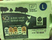Free range eggs - Product - en