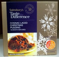 Cognac Laced Christmas Pudding - Product