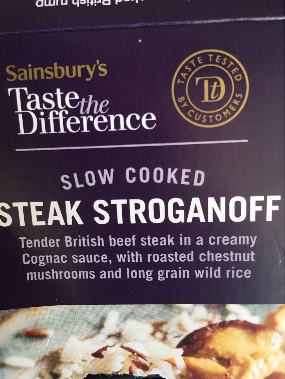 Steak Stroganoff - Produit - en