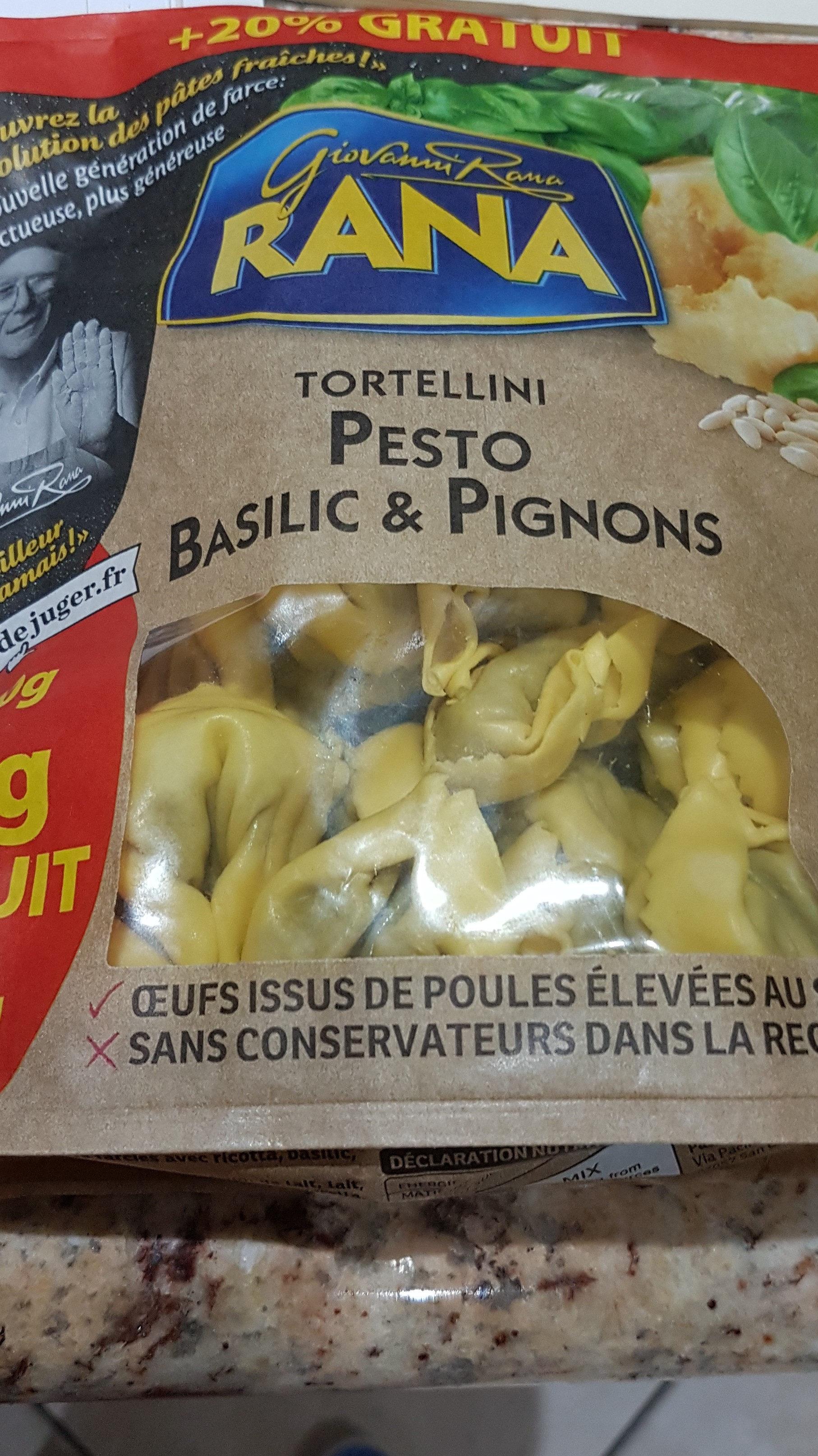 Tortellini Pesto Basilic & Pignons - Produit - fr