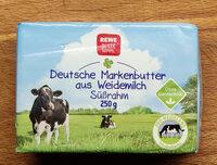 Deutsche Markenbutter aus Weidemilch - Produit - de