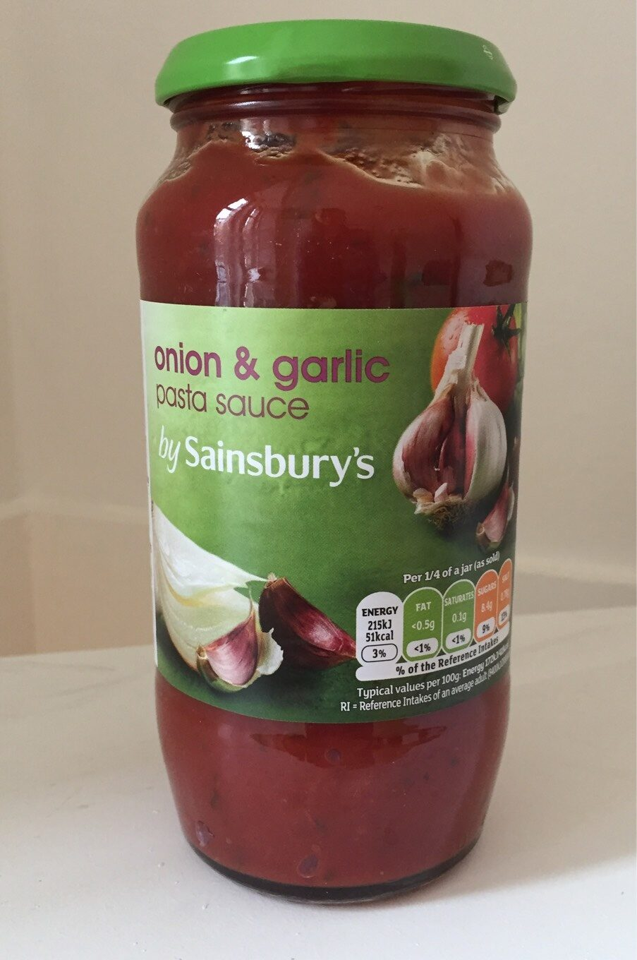 Onion Garlic Pasta Sauce Sainsbury