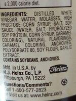 Worcestershire sauce, worcestershire - Ingredients - en