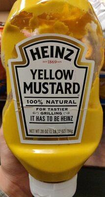 Yellow mustard - Product