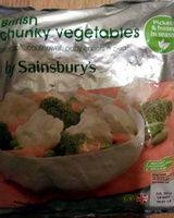 British chunky vegetables - Product