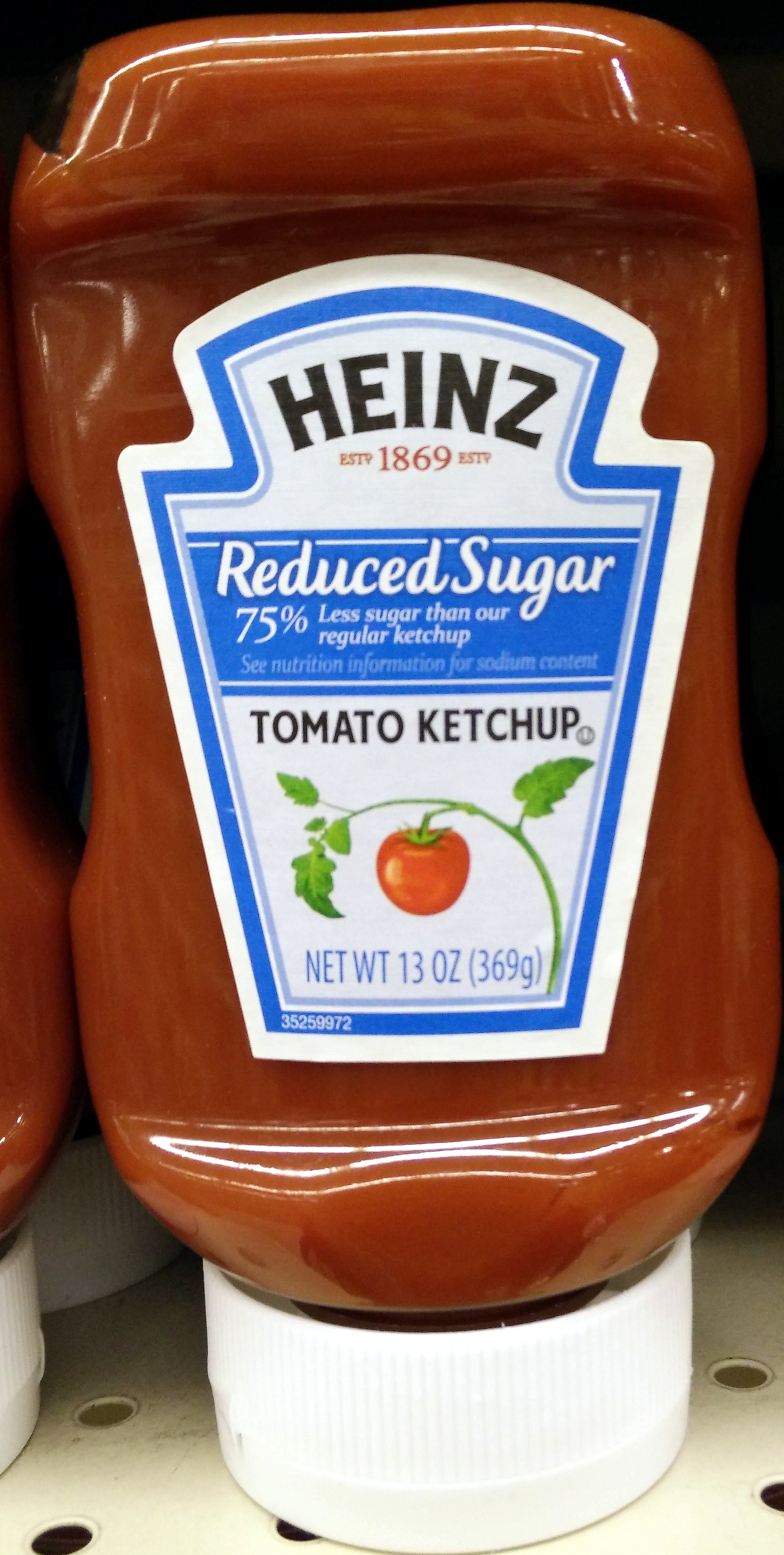 Reduced Sugar Tomato Ketchup - Heinz