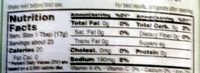 Organic Tomato Ketchup - Nutrition facts - en