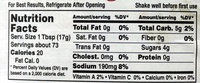 Simply Heinz Tomato Ketchup - Nutrition facts