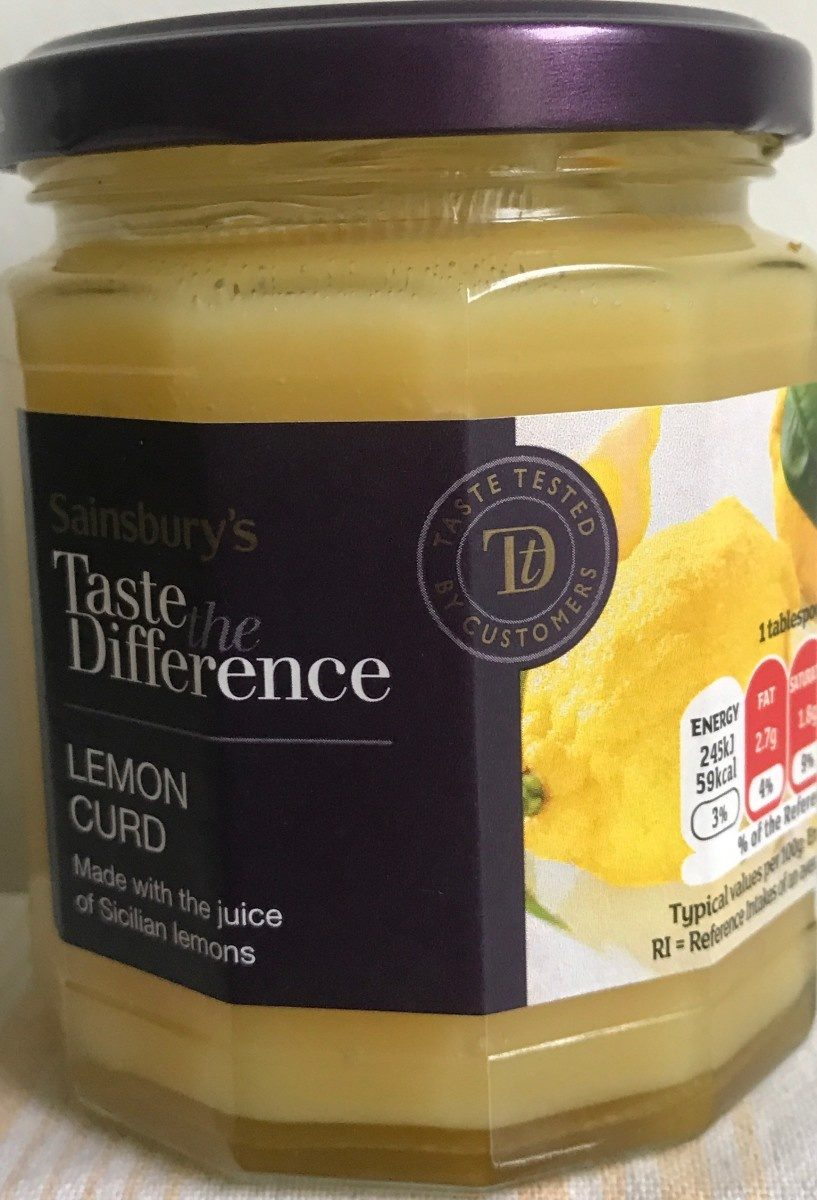 Lemon curd - Product - fr