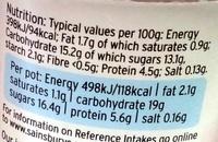 Low Fat Red Fruits Yogurts - Informations nutritionnelles - en
