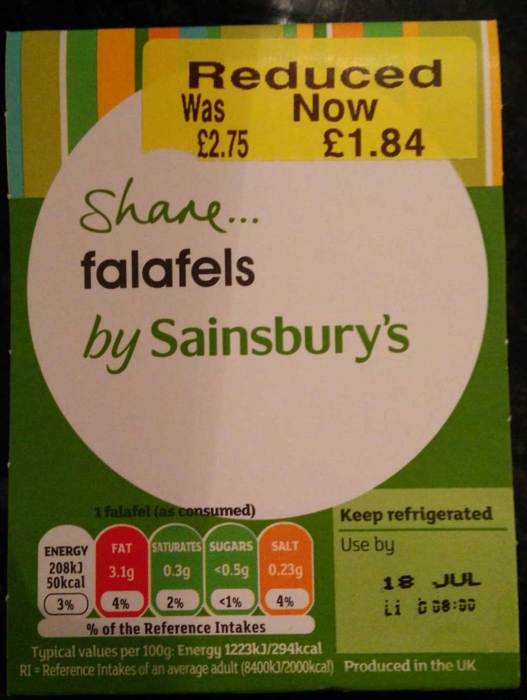 Falafels - Product - en