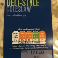 Deli-style Coleslaw - Product