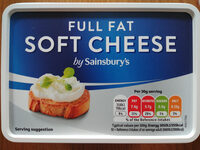 Full fat soft cheese - Product - en
